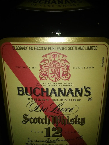 whisky doce años old parr , buchanan's ,chivas regal,swing
