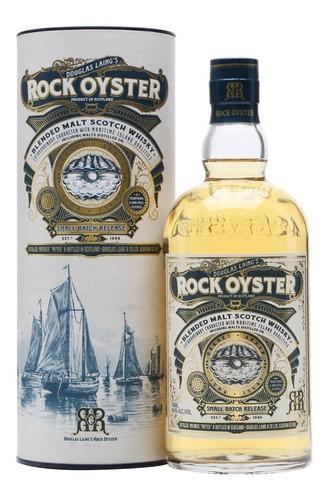 whisky douglas laings rock oyster en lata escoces