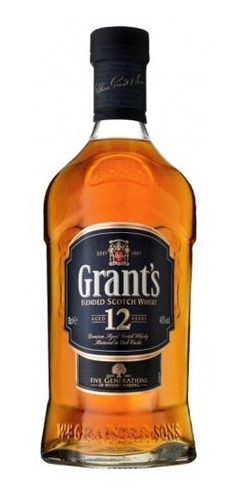whisky etiqueta negra 12 años grants 0,75 litros lf