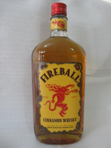 whisky fireball cinnamon 750 ml