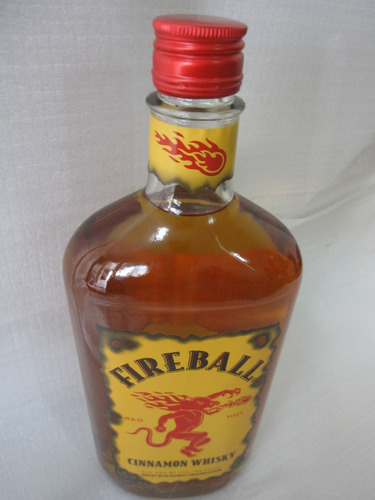 whisky fireball cinnamon 750 ml original leia o anuncio