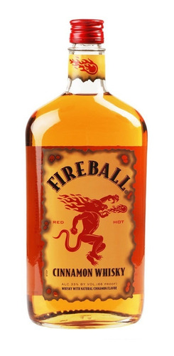 whisky fireball cinnamon 750ml - origen canada