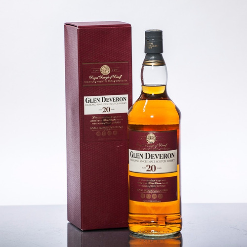 whisky glen deveron 20 años single malt de litro escoces