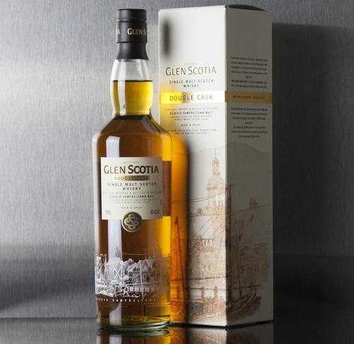whisky glen scotia double cask single malt 750ml en estuche