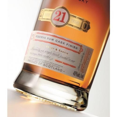 whisky glenfiddich 21 años single malt rum cask finish