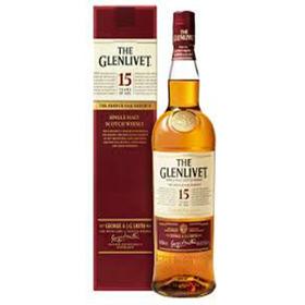 Whisky Glenlivet 15 Yo Single Malt (ent. Gratis Caba)