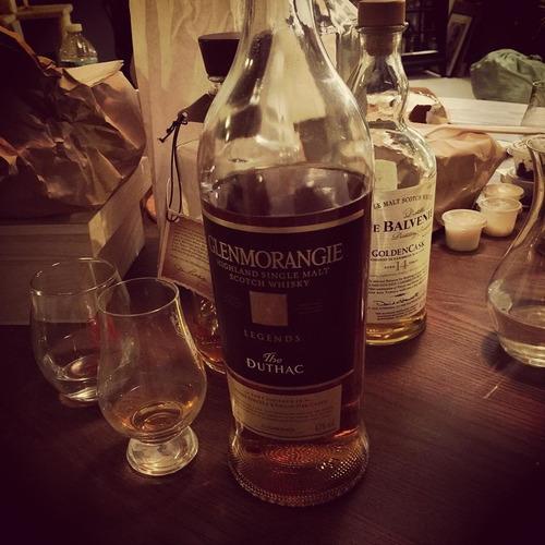 whisky glenmorangie the duthac single malt 1000ml en estuche