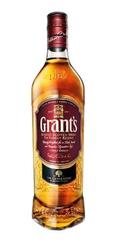 whisky grants litro 8 años x 1000ml