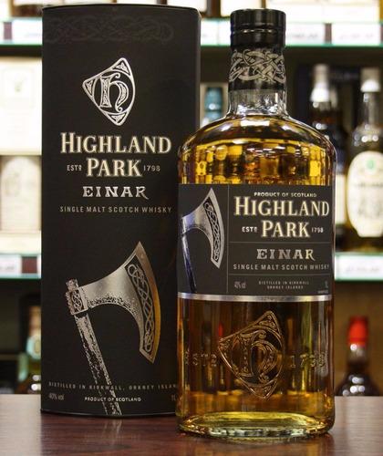 whisky highland park einar single malt 1000ml en estuche