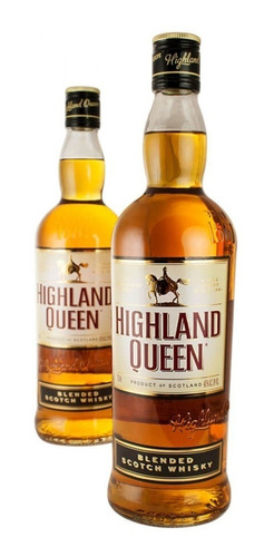 whisky highland queen 0,75l botella lf