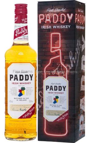 whisky irlandes paddy con lata whiskey envio gratis caba