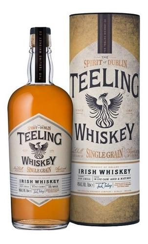 whisky irlandes teeling irish single grain con lata