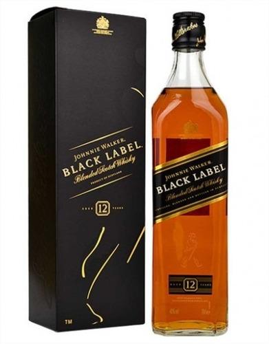 whisky j walker etiqueta negra black 750 ml licor gift