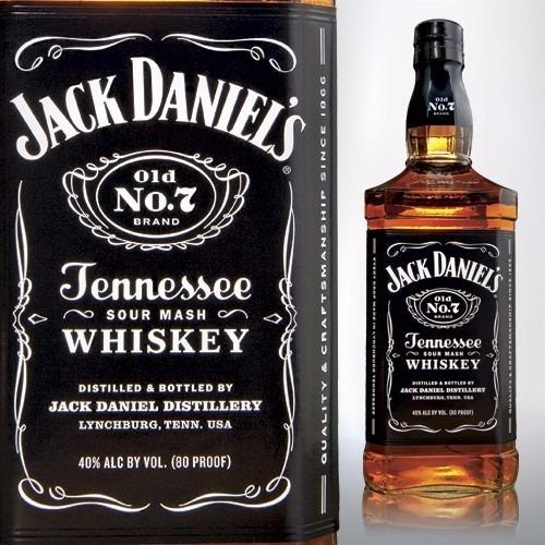 whisky jack daniels 750 ml importado