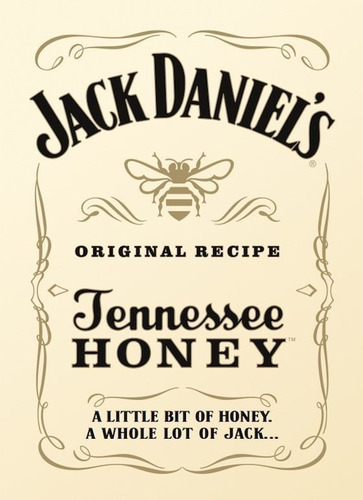 whisky jack daniels honey miel 50ml miniatura tennessee