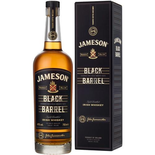 whisky jameson black barrel c/estuche envio gratis caba