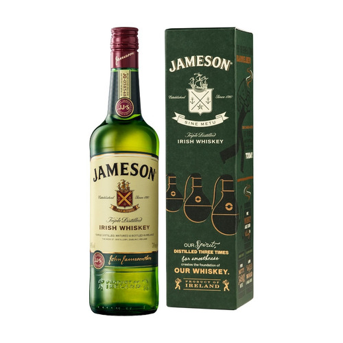 whisky jameson irish (litro) 100 % original