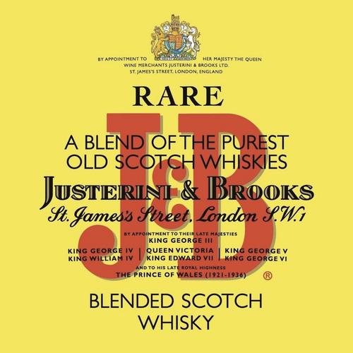 whisky j&b rare 750ml con estuche jb buen chupi zona norte