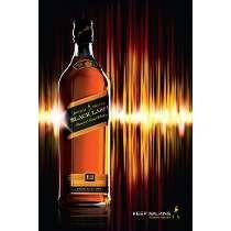 whisky jhonny negro 12 años de 1 litro