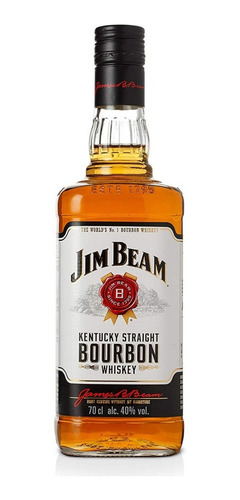 whisky jim beam bourbon white 750ml botella 01almacen
