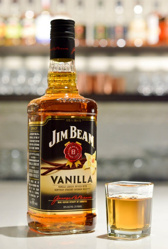 whisky jim beam vainilla 750ml bourbon