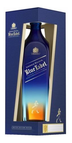 whisky johnnie walker blue label karman line edition 750ml