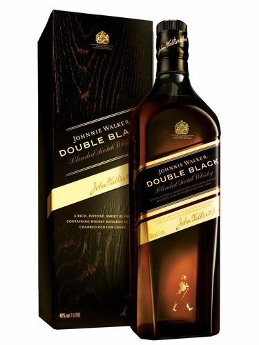 whisky johnnie walker double black 1 litro 100% original