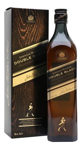 whisky johnnie walker double black (1.litro) 100% original