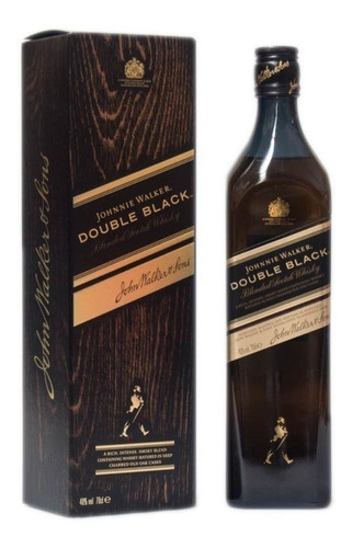 whisky johnnie walker double black (1.litro) 100% original