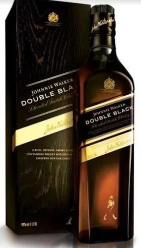 whisky johnnie walker double black 750 ml - original