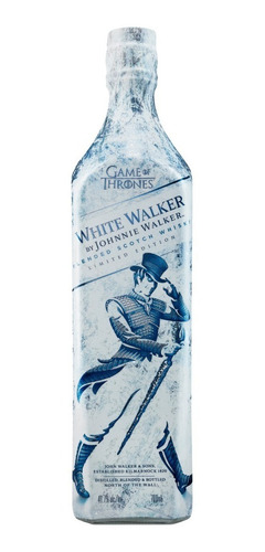 whisky johnnie walker edición esp. game of thrones 700 ml