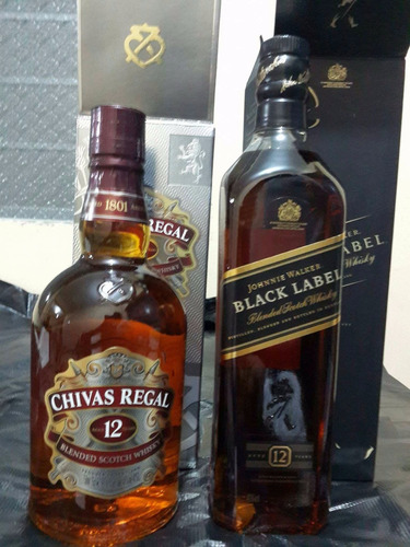 whisky johnnie walker etiqueta  black label  s/ 63 soles