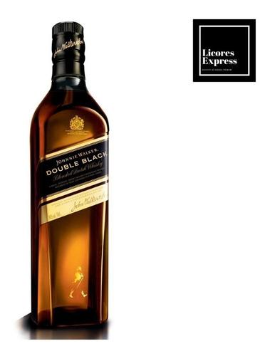 whisky johnnie walker etiqueta double black