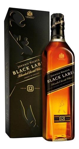 whisky johnnie walker etiqueta negra 1 l