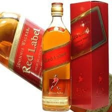 whisky johnnie walker etiqueta roja nuevo en caja remato