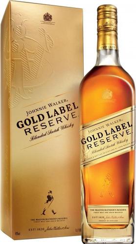 whisky johnnie walker gold label etiqueta azul negra roja