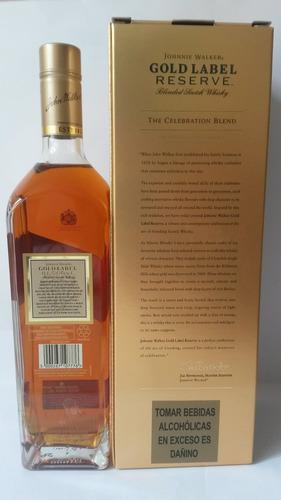 whisky johnnie walker gold label reserva/dorada - maeli