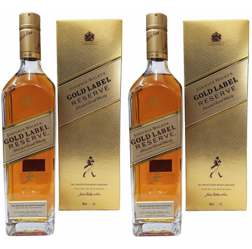 whisky johnnie walker gold oferta x 2 botellas escoces