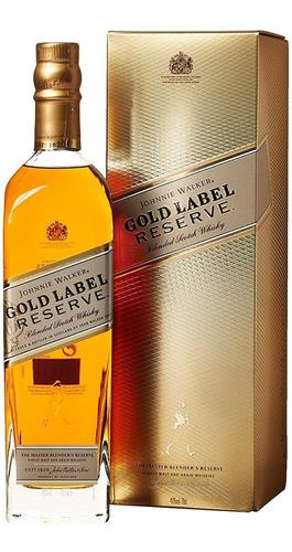 whisky johnnie walker gold reserve (1.botella) 100% original