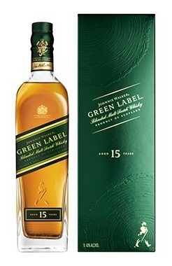whisky johnnie walker green label reserve 750ml original