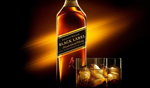 whisky johnnie walker negro (black label) 1 litro original