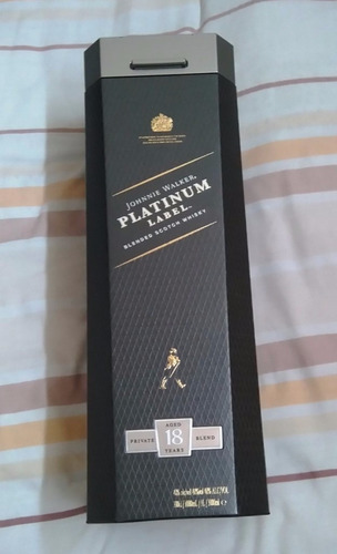 whisky johnnie walker platinum 18 años litro 100% original