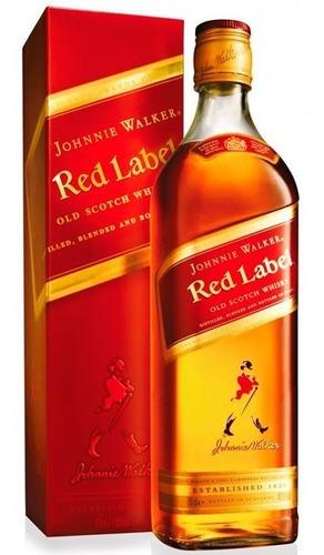 whisky johnnie walker red label reserve 750ml /original