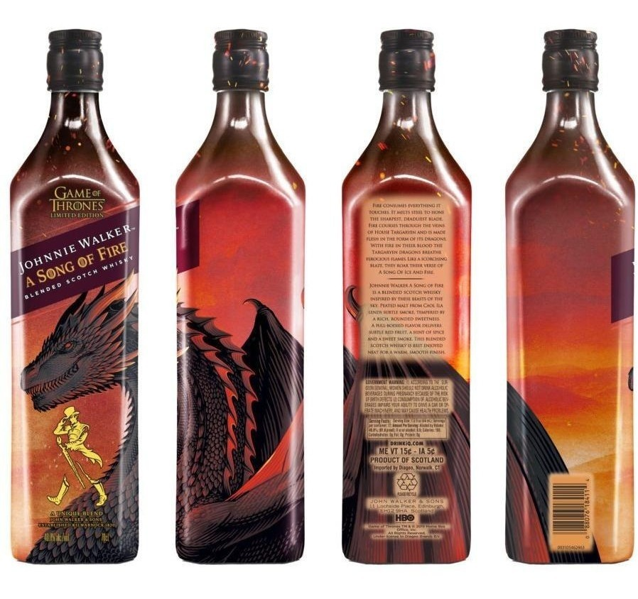 Image result for johnnie walker a song of fire