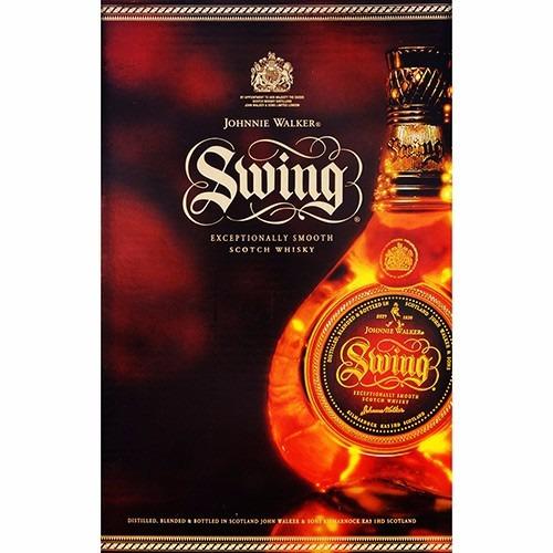 whisky johnnie walker swing 15anos de 350,00 por 230,00