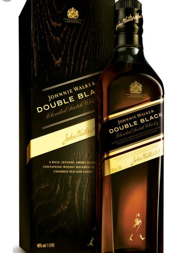 whisky johnny doble negro litro