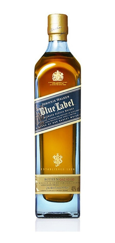 whisky johnny walker blue label tiffany - perez tienda  -