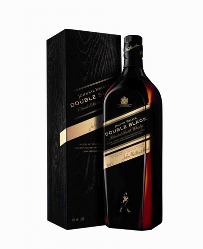 whisky johnny walker doble negro double black 100%original