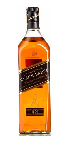 whisky j.w. black label - 1 l