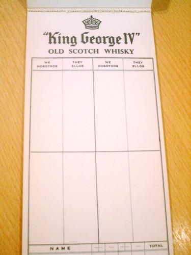 whisky king george iv old scotch whisky anotador bridge